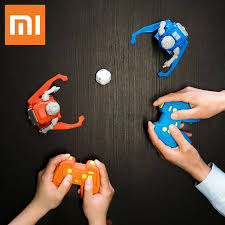 2019 NEW Xiaomi MITU <b>Football Robot Builder</b> DIY Children's Toys ...