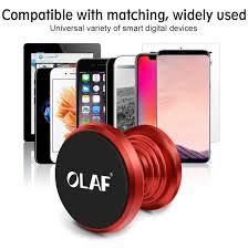 <b>OLAF</b> Magnetic Car <b>Phone Holder</b> 360 Rotation Bracket Screw ...