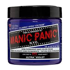 Buy Manic Panic 4oz Semi-Permanent Ultra Violet Hair Dye Purple ...