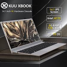 <b>KUU</b>-<b>XBOOK</b> Ultra-thin 14.1 Inch <b>Intel Celeron</b> J4115 Up To 2.5 GHz ...