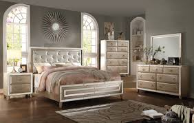 Mirrored Furniture Bedroom Sets Bedroom Set With Mirror Headboard