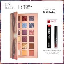 <b>Pudaier</b> Fish Scale 18 Colors <b>Eyeshadow</b> Palette <b>Makeup</b> ...
