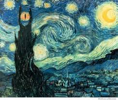 Starry Night | WeKnowMemes via Relatably.com