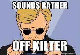 Sounds rather off kilter - csi miami yeah | Meme Generator via Relatably.com