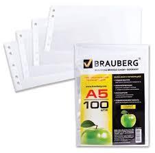 Купить <b>BRAUBERG</b> Папки-<b>файлы Яблоко А5</b> горизонтальные ...