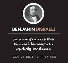 benjamin-disraeli-quotes - Next Luxury via Relatably.com