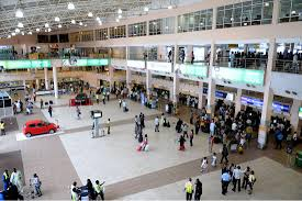 Image result for photos of lagos domestic airport nigeria