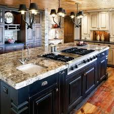 rustic kitchen island: image of rustic kitchen island lighting