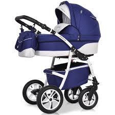Купить <b>коляску</b> 3 в 1 <b>Riko Modus New</b> 23 синий-белый в интернет ...