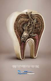best images about ads cards creative pepsodent don t let food stay too long ad advertisement advertising
