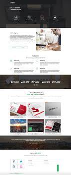 portfolio website templates psd css author sefolio