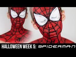 the amazing spiderman makeup 2016