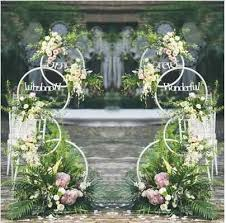 <b>New</b> style <b>wedding props</b> background ring arch road lead <b>wedding</b> ...