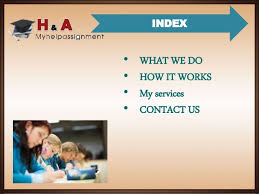 Dissertation Writing Homework Help   My Help Assignment SlideShare INDEX     WHAT WE DO     HOW IT WORKS     My services     CONTACT US