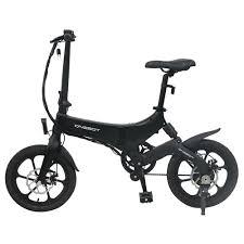 <b>ONEBOT S6</b> Folding <b>Electric</b> Bike 250W Motor Max 25km/h Black