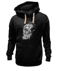 Толстовка Wearcraft Premium унисекс Growl <b>lion</b> #111868 от amid ...