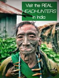 nagaland vist the last headhunters in unusual traveler nagaland headhunter portrait