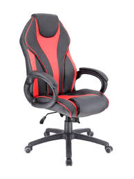 <b>Компьютерное кресло Everprof</b> экокожа Red - Чижик