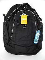 New High Sierra Backpack <b>Unisex Fat Boy</b> 64020 Black Size OSFA ...