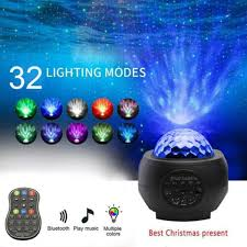 <b>Galaxy Starry Night</b> Lamp <b>LED</b> Star Projector Night Light Ocean ...