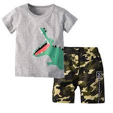 Baby Clothing Set <b>Toddler Kids Boys Girls</b> Casual Outfits Long ...