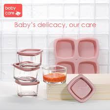 <b>Baby silicone</b> milk powder food container <b>infant</b> Dining Bowl <b>feeding</b> ...
