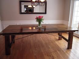 How To Make A Dining Room Table Making Dining Room Table Build Dining Room Table Diy Dining Table