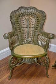 brown wicker outdoor furniture dresses: antiques and collectibles victorian furniture wicker chair
