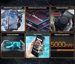 <b>Ulefone ARMOR X5-4G</b> Rugged Smartphone, M- Buy Online in ...