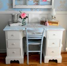 a vintage shabby chic inspired office nook shabby chic style home office chic vintage home office