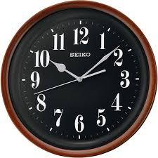 Деревянные <b>настенные часы Seiko QXA550Z</b> — купить в ...
