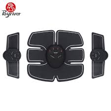 BYRIVER <b>Electric Abdominal Muscle Training</b> Fitness ABS EMS ...