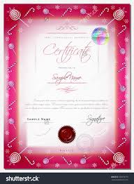 christmas certificate template border as xmas happy new year save to a lightbox