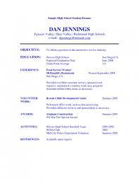 high school student resume for  seangarrette coresume tutor high school student resume example high school sample resume for high school students