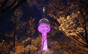 Kết quả hình ảnh cho thủ đô hàn quốc về đêm