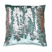 garden decor mekobre decoration lawn  melody mermaid reversible sequin x pillow the