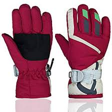 YR.Lover Children Ski Gloves Winter Warm Outdoor ... - Amazon.com