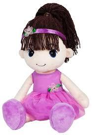 <b>Мягкая игрушка Maxitoys Кукла</b> Стильняшка брюнетка 40 см ...