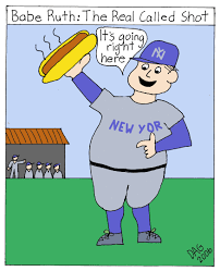 babe ruth cartoon i know i made you smile doctored photos and fraud it is all a hoax revealed by carl d agostino
