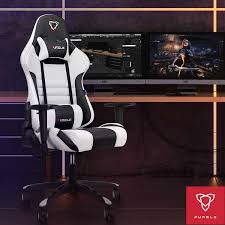 <b>Furgle</b> gaming chair white <b>computer chair</b> with leather boss chair ...
