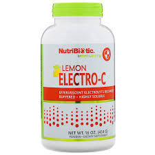 NutriBiotic <b>Immunity</b>, <b>Lemon Electro-C</b> Powder, 16 oz (454 g ...