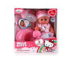 Карапуз <b>Пупс Hello Kitty</b> 20 см - Акушерство.Ru