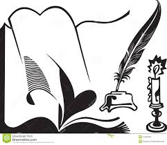 quill writing clipart autoblogger symbol of writing and literature