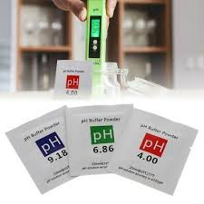 <b>3 Pcs PH Buffer</b> Solution Powder <b>PH</b> Test Meter Measure ...