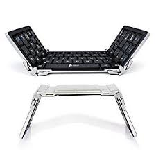 Amazon.com: iClever <b>Bluetooth Keyboard</b>, <b>Foldable Wireless</b> ...