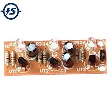 <b>Electronic DIY</b> Kit DC 3V 15V <b>DIY</b> Kit <b>3pcs</b> LED Cycle Flash Light Kit ...