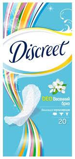 <b>Discreet прокладки</b> ежедневные Deo Spring Breeze <b>Multiform</b> ...