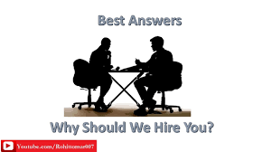 why should we hire you best answers english job interview why should we hire you best answers english job interview question
