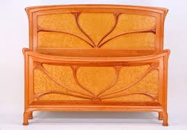 traditional panel beds by cl phillips fine furniture art deco furniture san francisco