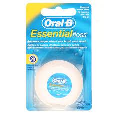 <b>Зубная нить Oral</b>-<b>b Essential</b> floss, 50 м | Магнит Косметик
